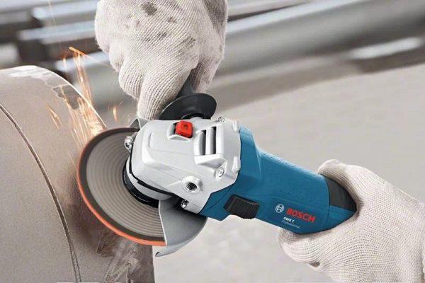 BOSCH miniamoladora angular GWS 7-115 Professional