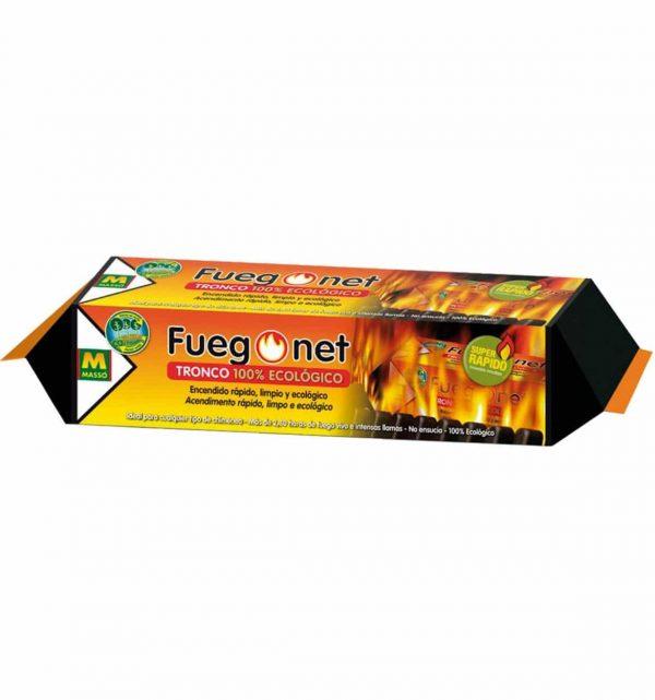 Tronco 100% ecológico de fuego net