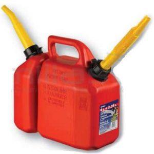 Garrafas gasolina/aceite