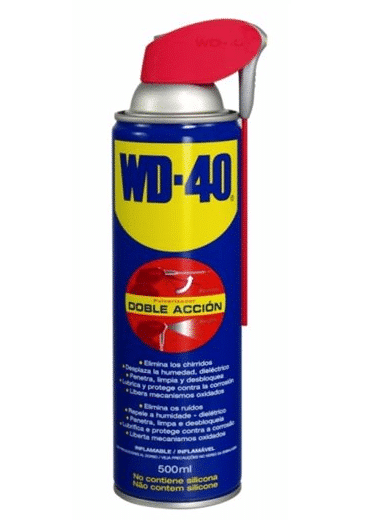 Aceite Lubricante Multiusos Spray Wd-40 500 Ml