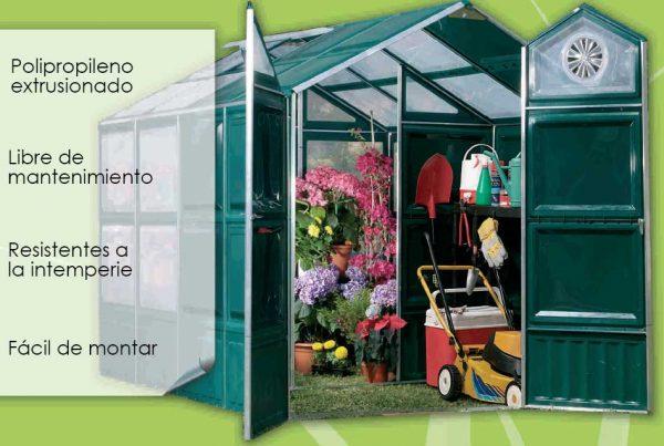 INVERNADERO-CASETA GREEN HOUSE