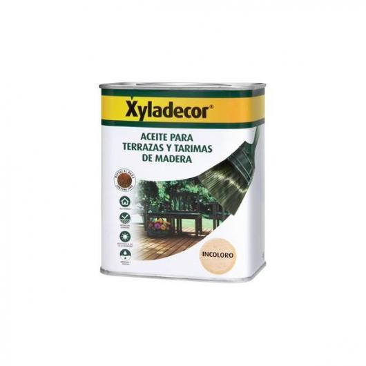 XYLADECOR Aceite para Terrazas y tarimas de Madera incoloro