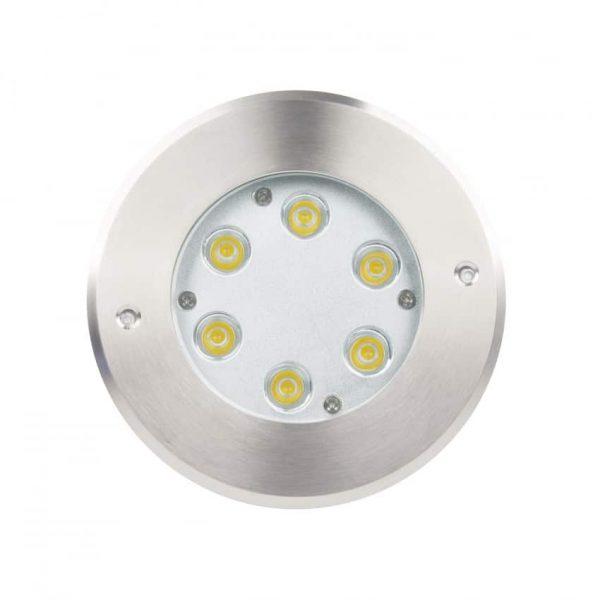 Foco LED Empotrable en Suelo 6W 3000K