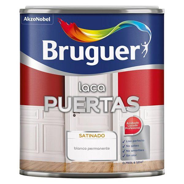 Bruguer Laca acrílica para puertas Blanco, 750 ml, Satinado