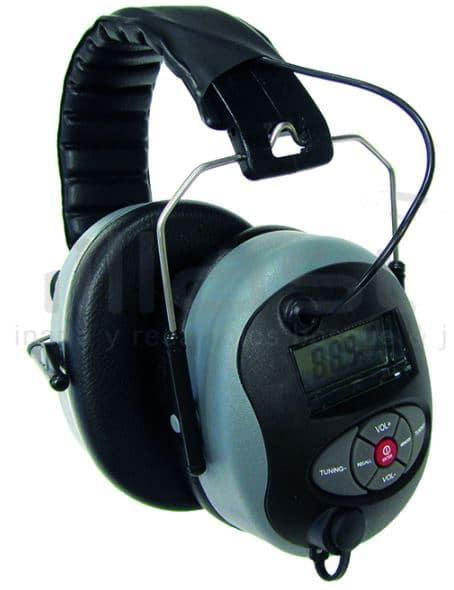 AURICULARES PROTECCIÓN CON RADIO-MP3