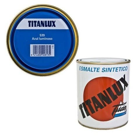TITANLUX ESMALTE SINTÉTICO AZUL LUMINOSO 750ml