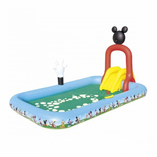 Piscina infantil Mickey con Tobogán de Bestway