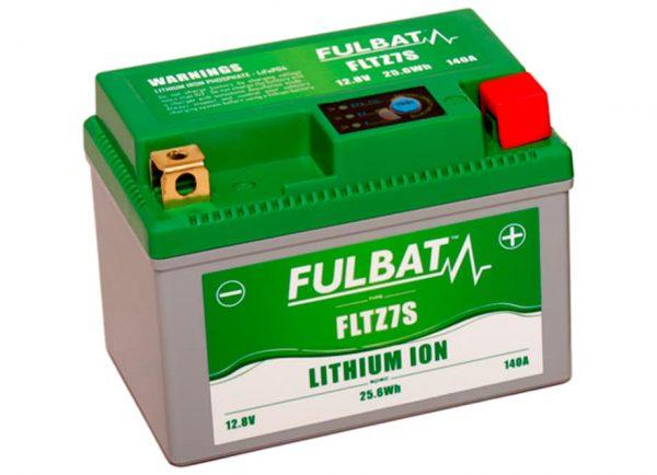 BATERIA MOTO FLTZ7S 12V LI-ION 25.6Wh - 140A (113 x 70 x 85) -POSITIVO DERECHA.