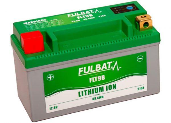 BATERIA MOTO FLT9B 12V LI-ION 38.4Wh - 210A (150 x 66 x 93)) -POSITIVO DERECHA.