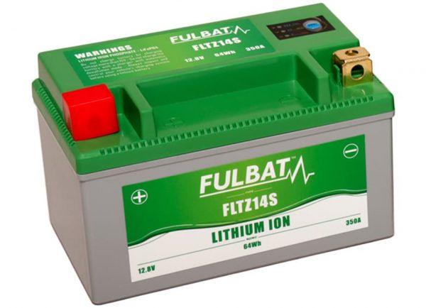 BATERIA MOTO FLTZ14S 12V LI-ION 64Wh - 350A (150 x 87 x 93) -DERECHA