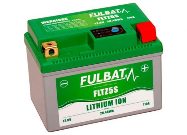 BATERIA MOTO FLTZ5S 12V LI-ION 20.5Wh - 110A (113 x 70 x 85)  -POSITIVO DERECHA.