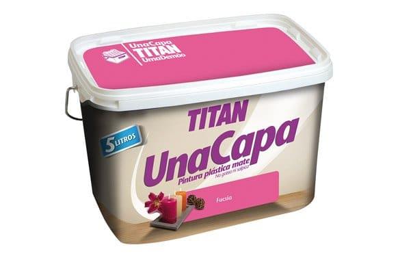 Titan FUCSIA pintura plástica 2.5L mate una capa  69630626