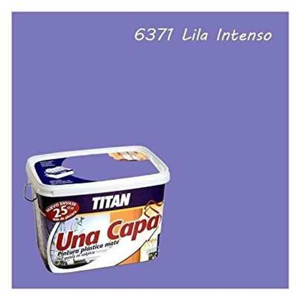 Titan LILA INTENSO pintura plástica 2.5L mate una capa  69637126
