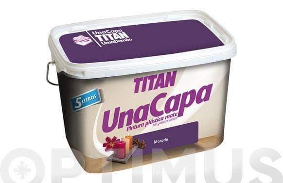 Titan MORADO pintura plástica 2.5L mate una capa  69630426