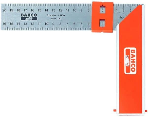 Bahco 9048-250 - Escuadra para carpintería 250mm