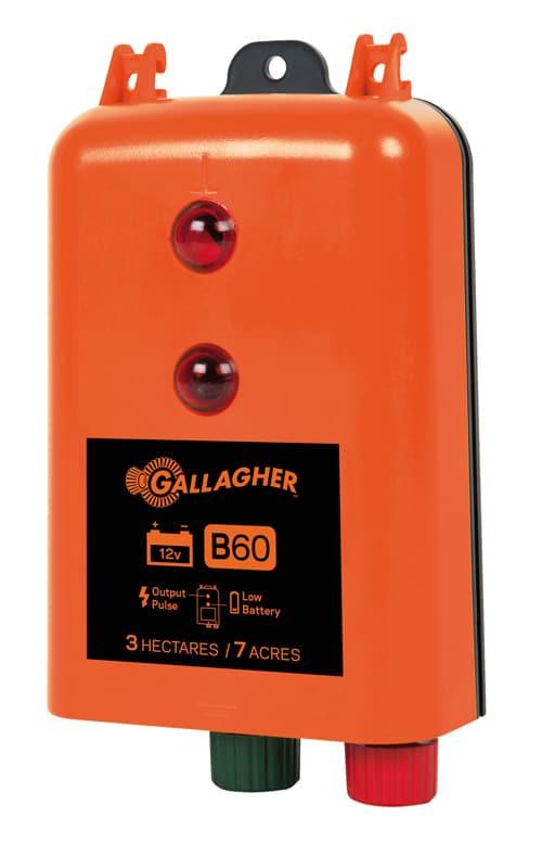 Gallagher B60 (pastor) energizador a Bateria