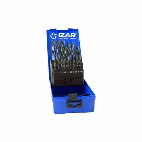 Juego brocas 1456/25235 hss 25pz caja plastico de izar